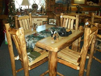Williams Log Cabin Furniture - Log Dining Room & Kitchen