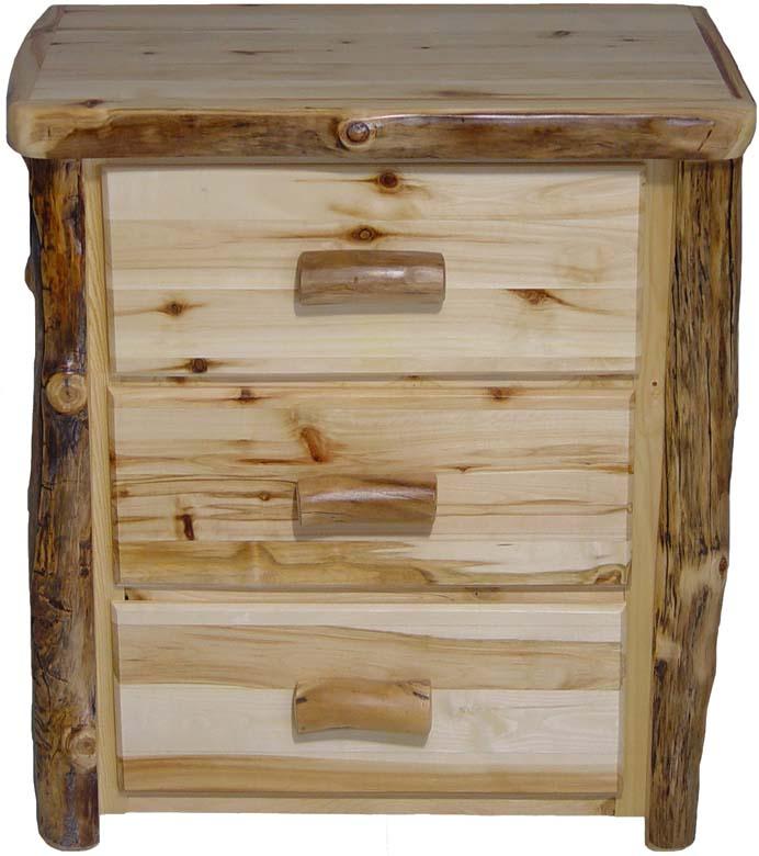Williams Log Cabin Furniture Nightstands