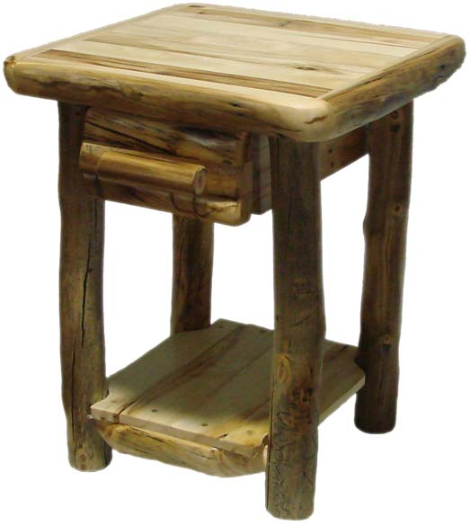 We Now Stock An Assortment Of End Tables In Different Heights And Lengths.  Custom End Tables Can Also Be Ordered To Fit Every Decorative Setting.