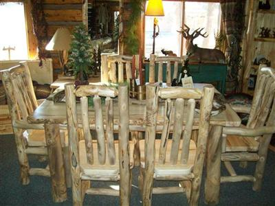 Williams Log Cabin Furniture Log Dining Room Amp Kitchen
